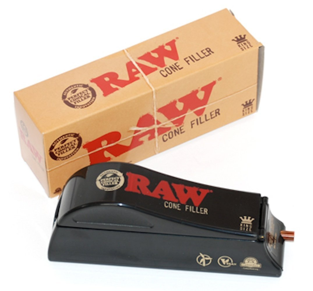 Raw Rolling Papers Brand King Size Cone Filler