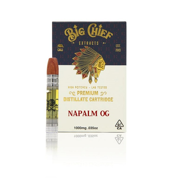 Big Chief Extracts Napalm OG