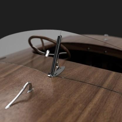 Mahogany race boat plans two seater mahogany inboard speedboat