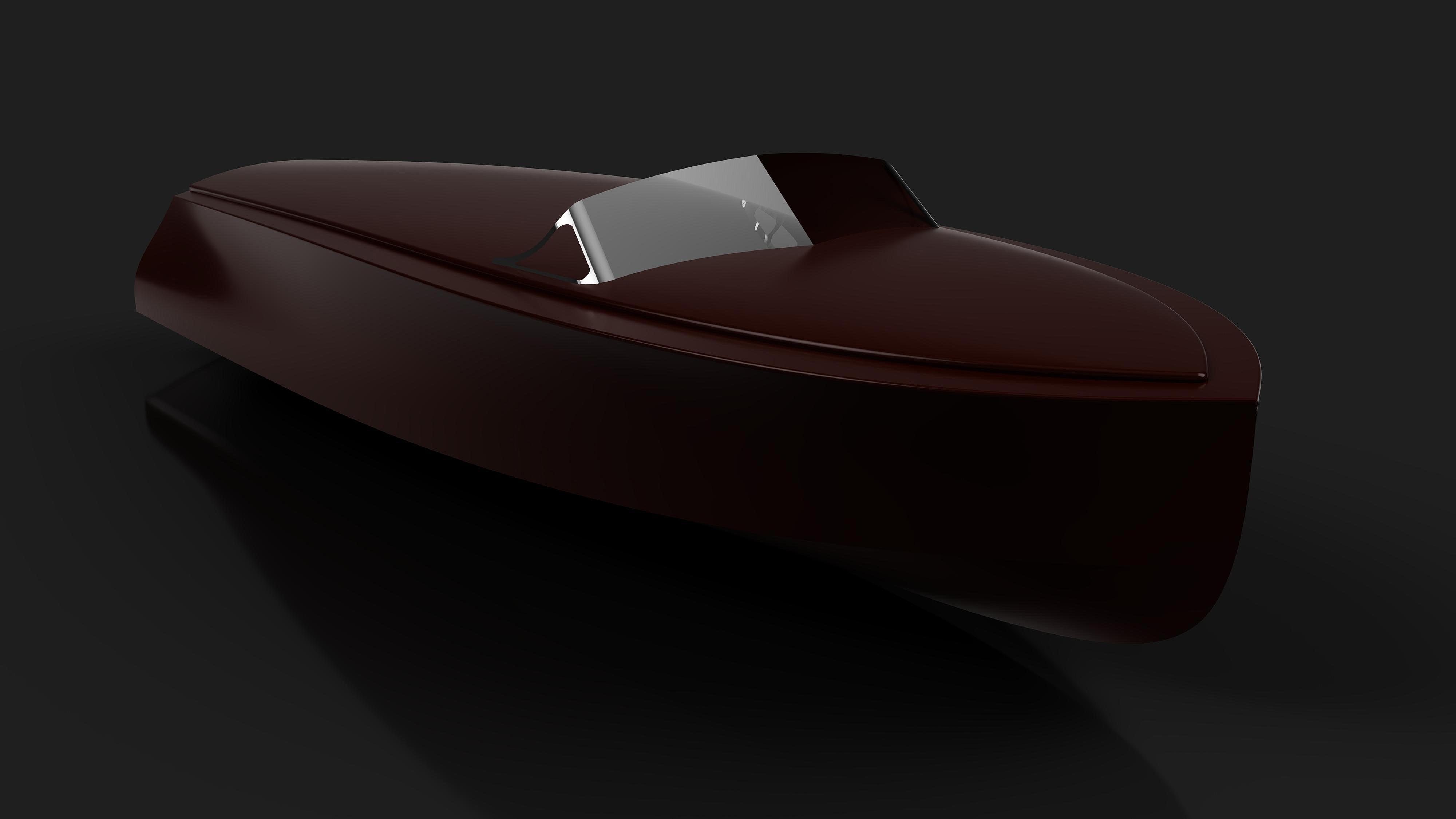 Modern wooden runabout yacht tender modern wooden runabout