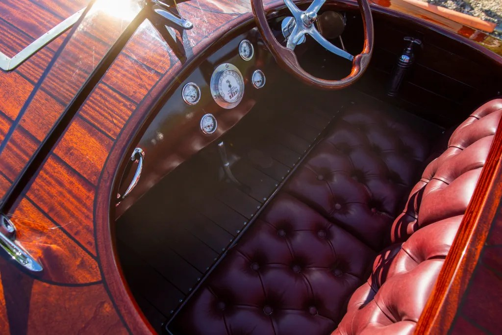 Miss Isle cockpit built by Dan Lee
