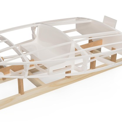 Plywood boat building kit by Dan Lee Boatbuilding