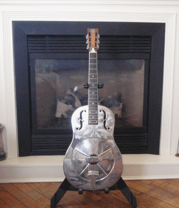 Style O Single Cone, Biscuit Bridge, Resonator Guitar