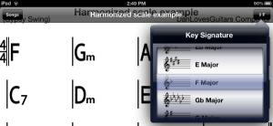 Change keys in iReal b