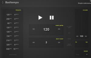 Basitemp-metronome-chrome-app