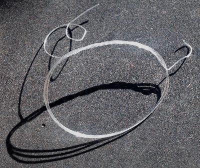 clear nylon ukulele string