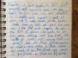 gay depression diary