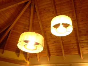 Attractive lamp shades for CFL bulbs