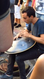 This single steel drum played like a complete set of steel drums.