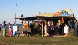 A shop at Cabo Polonio