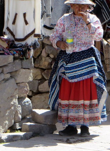 Another colorful Peruvian costume