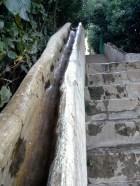 Granada - Alhambra garden - water stairway