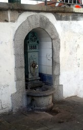 Water fountain, Lekeitio. Every town has at least one public water fountain source