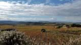Beautiful Rioja wine country in fall