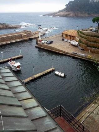 Aigua Blava harbor