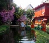 Monks gardening