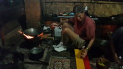 Dan cooking curry