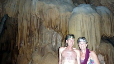Caving in the Khao Sok national park