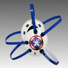 captain america headgear danmar warrior wrestling image