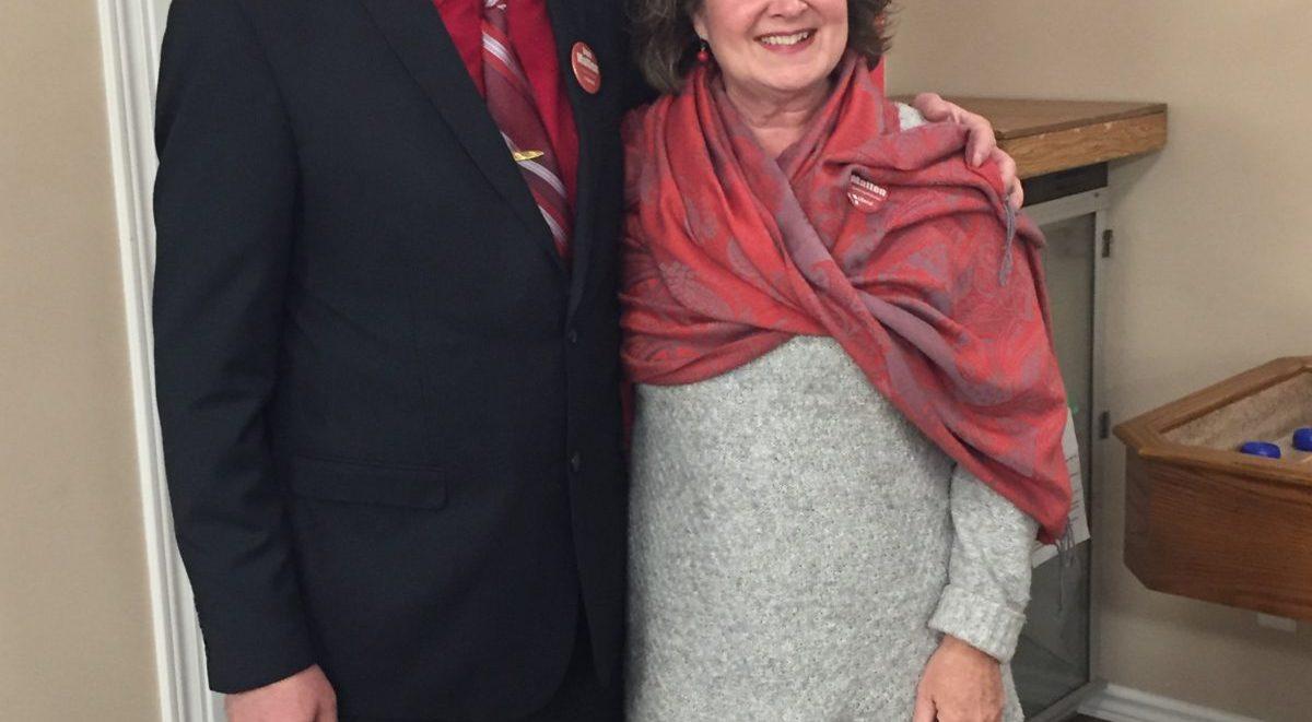 Dan Matten and Hon. Kathryn McGarry