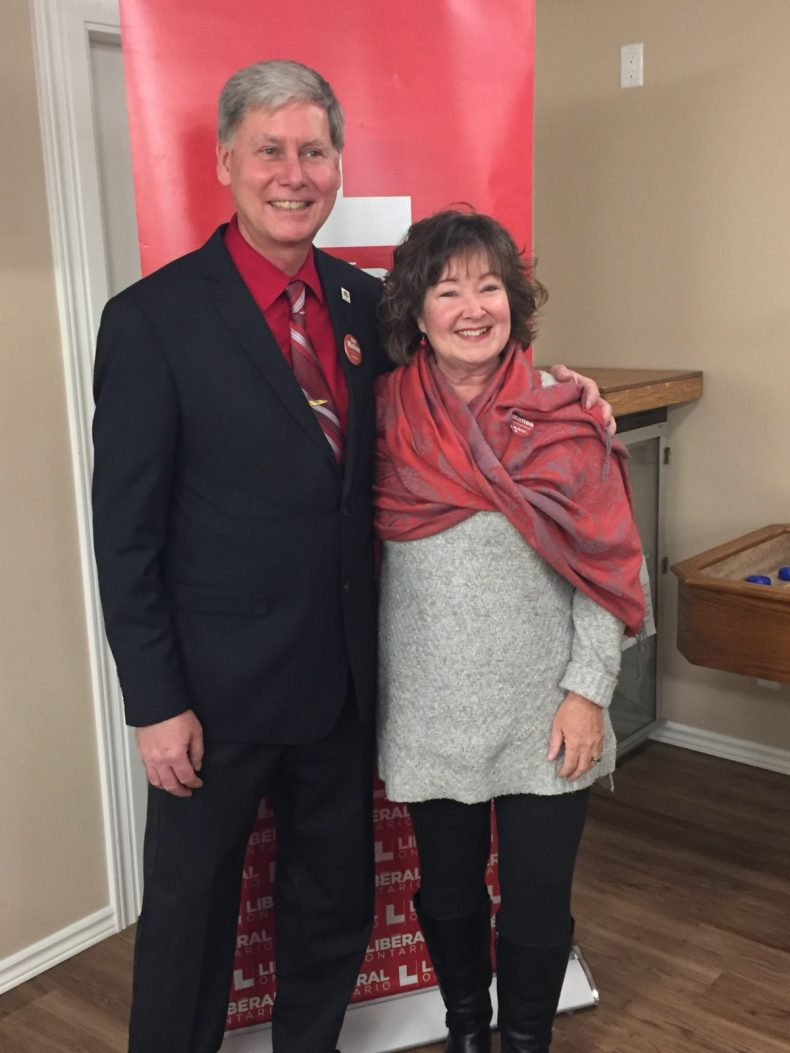 Dan Matten and Hon. Kathryn McGarry