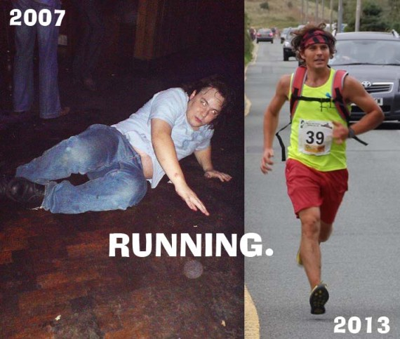 These are both me, surprisingly. But one is old and over the hill...