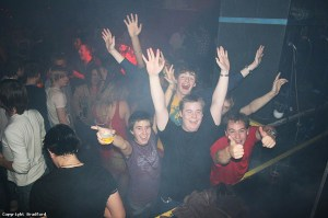 Fun times at Bradford University.