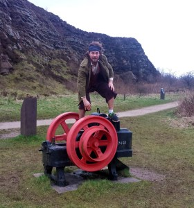Sure-footed as a mountain hobbit!