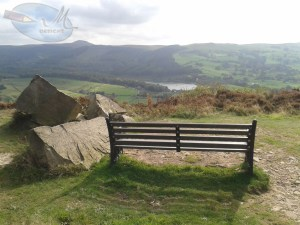 Bench on at the top of Teggs Nose.