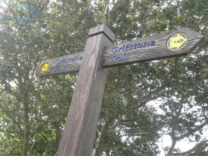 Part of the Gritstone Trail.