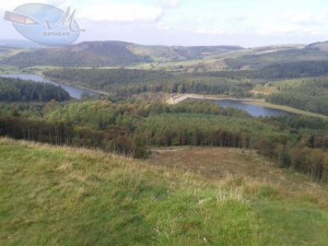 View of Ridgegate Reservoir.