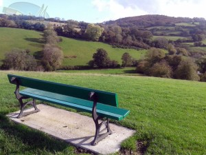Countryside in Mortonhampstead.