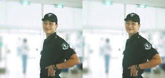 刑務官として軍服務を終えたパク・ソジュン
