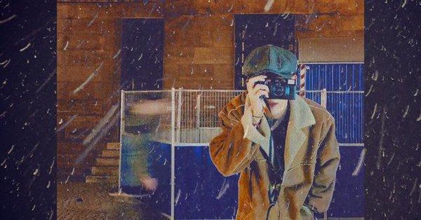 V自身が手掛けたという「風景」のジャケット写真