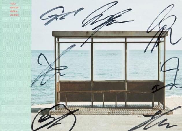 BTSメンバー全員サイン入りCD