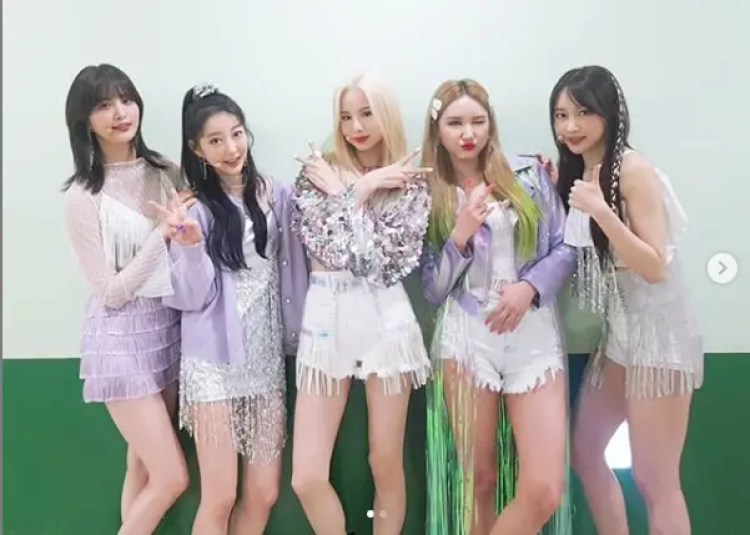 「ME&YOU」でカムバックを果たしたEXID