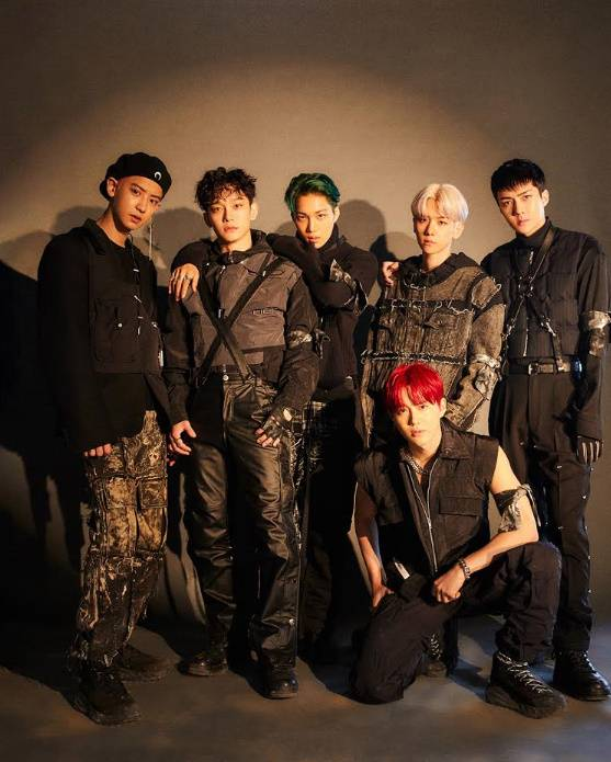 6thアルバム「OBSESSION」EXO