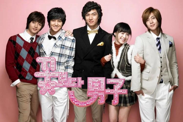 2009年放送の韓国版'花より男子'