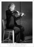 Violinist Robin Mayforth