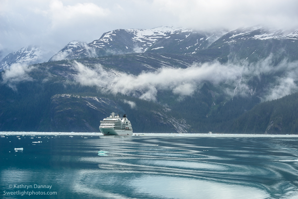 The journey up the fjord begins