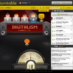 Turntable.fm is pretty awesome.