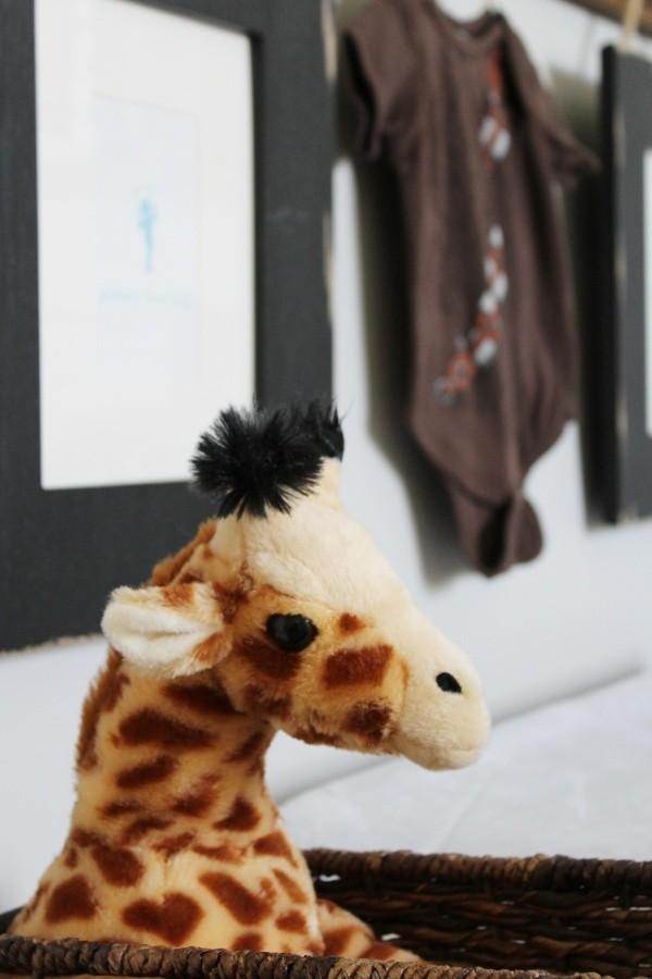 stuffed giraffe