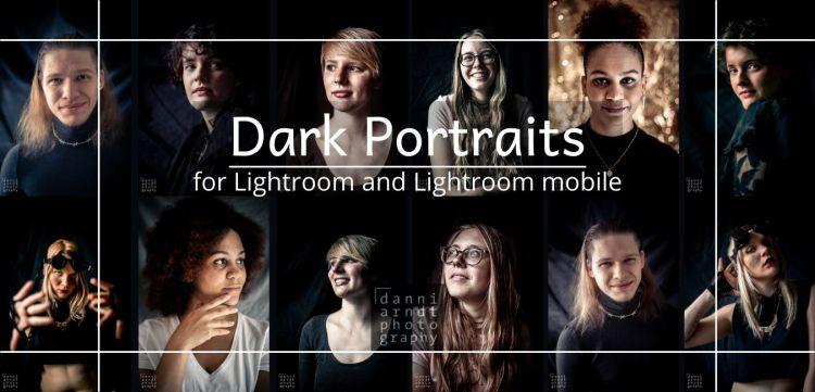 Vorschaubilder Presets Dark Portraits