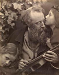 CIS:44:764 Whisper of the Muse, Julia Margaret Cameron, 1865 © Victoria and Albert Museum, London Permission to use only within context of gallery highlighting exhibition at Victoria and Albert Museum.