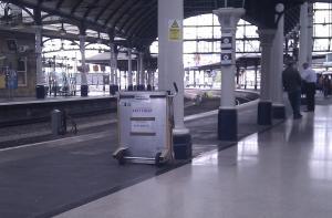 Ramp at Train Station