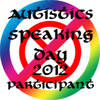 Autistics Speaking Day 2012 Participant