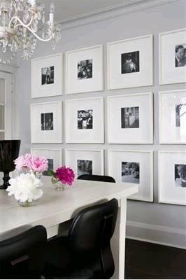 Framed Photos - White