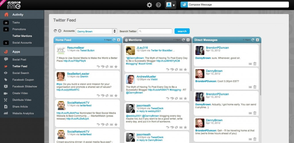 how to create a twitter campaign