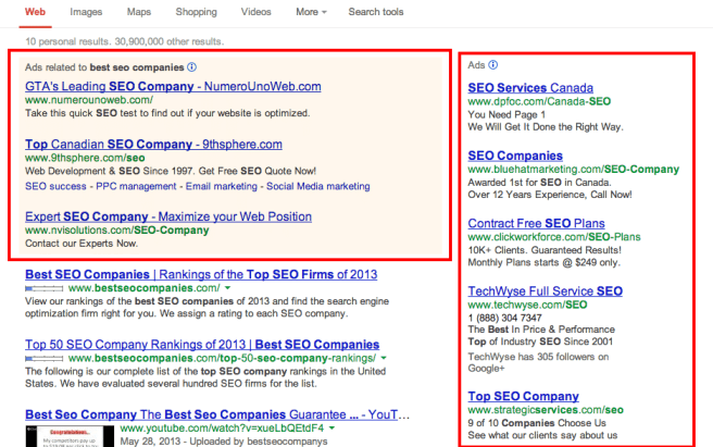 best seo companies Google Search