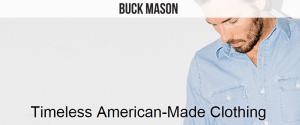 Buck Mason